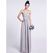 Lanting Bride® Floor-length Chiffon Bride...